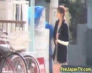Japanese Streetside Piss - scene 5