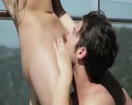 Outdoor Beautiful Sex With Sense - scene 5