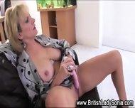 British Tart Masturbates - scene 4