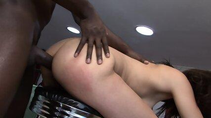 anal creampie interracial Milf