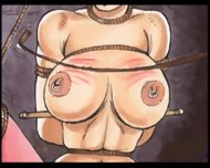 Slaves In Bondage Bdsm Cartoon Art - scene 12