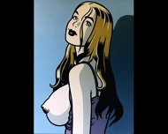 Big Tits And Bondage Comic Art - scene 6