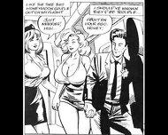 Busty Big Naturals Tits Stewardess Takes On Huge Cock Threesome Xxx Comic - scene 6