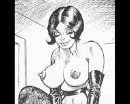 Whipped And Marked Fiendish Femdom Bdsm Art Cartoons Comics - scene 1