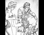 Whipped And Marked Fiendish Femdom Bdsm Art Cartoons Comics - scene 12