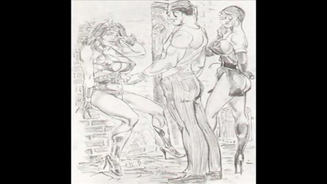 Amazons Dominate In Mixed Wrestling Lesbian Wrestling Art Comics
