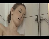Reaching Orgasm In The Pleasing Shower - scene 5