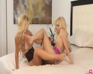 Unique Blonde Lezzies Eating Cunts - scene 8