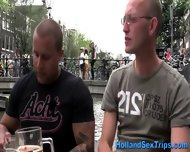 Euro Prostitute Cock Suck - scene 2