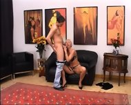 Blond Mature Having Vagina Fisted Hard - scene 2