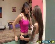 Teen Step Sister Licking - scene 1