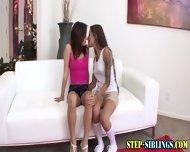 Teen Step Sister Licking - scene 2