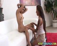 Teen Step Sister Licking - scene 5