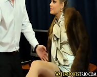Piss Drenched Glamor Slut - scene 2