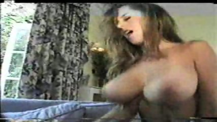 Beautiful Brunette with big Tits riding - scene 8