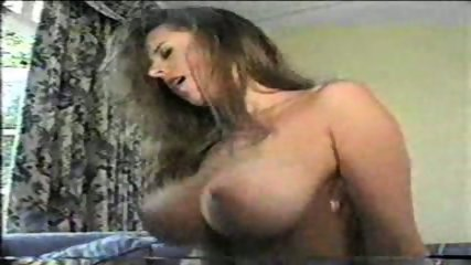 Beautiful Brunette with big Tits riding - scene 9