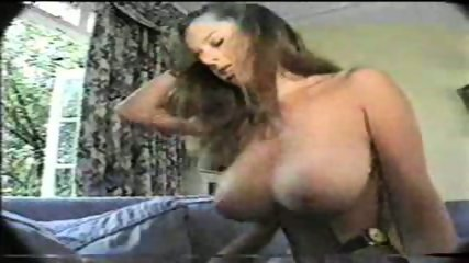 Beautiful Brunette with big Tits riding - scene 11