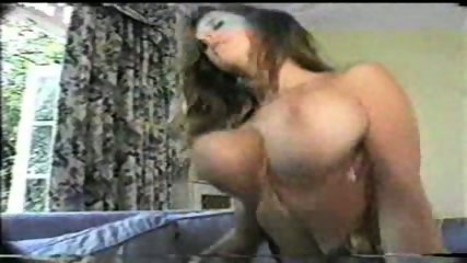Beautiful Brunette with big Tits riding - scene 12