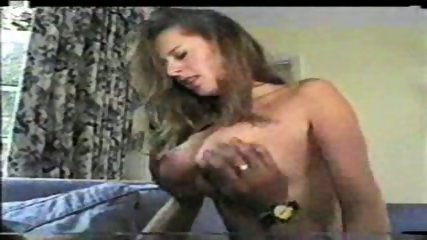 Beautiful Brunette with big Tits riding - scene 3