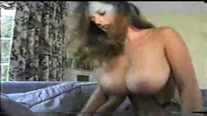 Beautiful Brunette with big Tits riding - scene 7