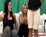 Cfnm Babes Blow Dork Cock - scene 7