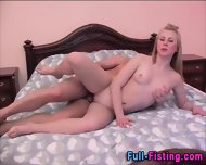 Fisted Teen Skank Facial - scene 12