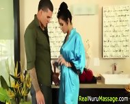 Nuru Masseuse Throats Rod - scene 3