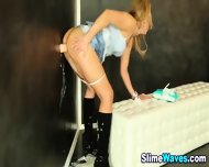 Wet And Messy Teen Cum On - scene 9