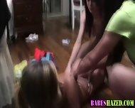 College Teens Shower Off - scene 1