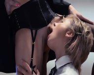 Neverending Strap-on Lesbians Action - scene 5