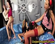 Golden Shower Glam Whores - scene 1