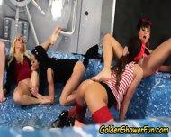 Golden Shower Glam Whores - scene 3