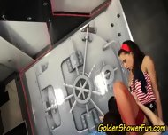 Golden Shower Glam Whores - scene 5