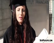 Pretty Eurobabe Kerry Raven Screwed Up After Graduation - scene 1