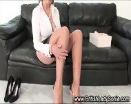 Lady Sonia Rubs Vagina - scene 8