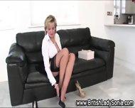 Lady Sonia Rubs Vagina - scene 2