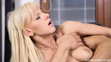 Cute Blonde Takes Care Of Boyfriend's Dick - scene 11