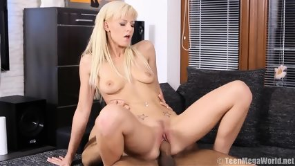 Cute Blonde Takes Care Of Boyfriend's Dick - scene 12