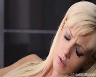 Cute Blonde Takes Care Of Boyfriend's Dick - scene 5