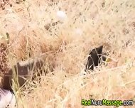 Nuru Masseuse Gets Facial - scene 1