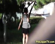 Japanese Hos Piss Outside - scene 12