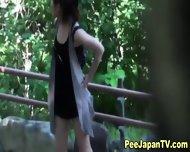 Japanese Hos Piss Outside - scene 5