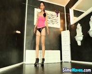 Wet And Messy Euro Whore - scene 3