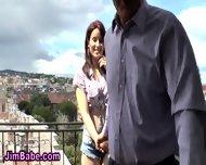 Euro Teen Tits Cummed On - scene 3