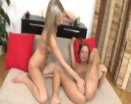 Big Lesbian Fist In Her Nasty Cunt - scene 10