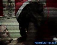 Black Dutch Whore Fucked - scene 5