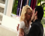 Ingratiatingly Sweet Blonde And Her Boyfriend - scene 2