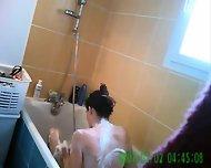 Amateur Hidden Shower Cam - scene 2