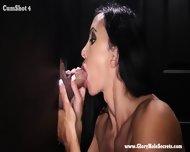 Jewels Jade Sucks Of And Slurps Strangers Cum Off Their Cocks - scene 9