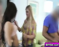 Smoking Hot Best Friends Having Hotel Orgy Together - scene 3